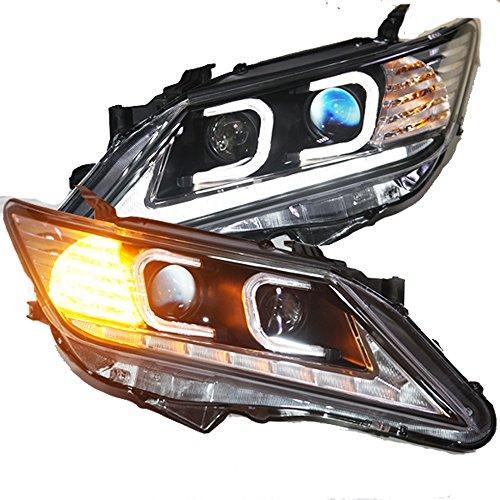 Штатная LED головная оптика C Type 2012 по 2013 год TLZ для Toyota Camry