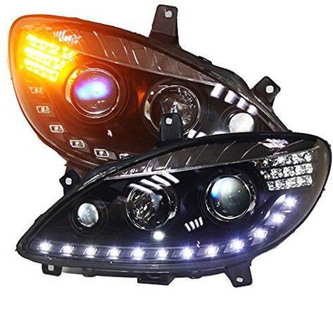 Штатная для Mercedes-Benz W639 Viano LED головная оптика Front Light 2006 по 2011 год, фото 2