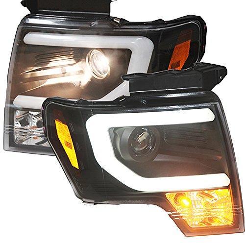 Штатная для Ford Raptor F-150 C Style LED головная оптика 2013 по 2014 год