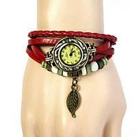 Женские часы с подвеской: 100-26 красный