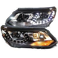 Штатная LED головная оптика TLZ 2012 по 2014 год для Volkswagen Tiguan