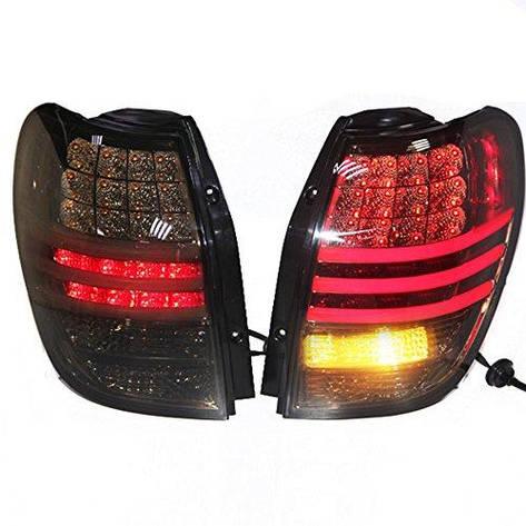 Штатная LED Rear Lamp 2010 по 2013 год для Chevrolet Captiva черный цвет, фото 2