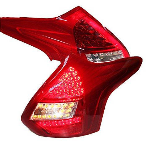Штатная LED задняя оптика Rear Lamp 2012 по 2014 год для Ford Focus 3 Hatchback, фото 2