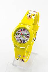 Детские наручные часы Kitty: 1309 желтый