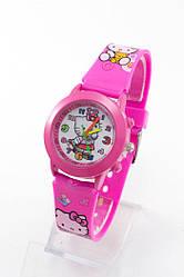 Детские наручные часы Kitty: 1309 малиновый