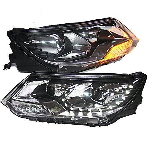 Штатная 2013 по 2014 год для VW Tiguan LED головная оптика LF