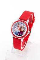 Детские наручные кварцевые часы «Frozen» 1315, красный