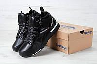 Кроссовки мужские Reebok GL6000 High Black Реплика