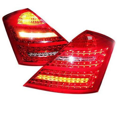 Штатная для Mercedes-Benz W221 LED задняя оптика 2006 по 2009 год LF, фото 2