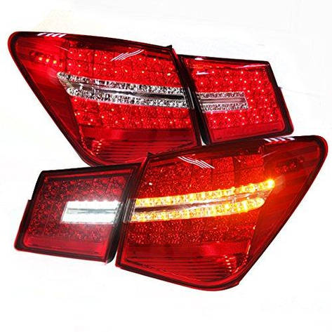 Штатная All LED задняя оптика 2009 по 2012 год для Chevrolet Cruze, фото 2