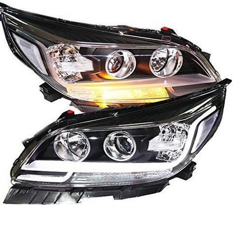 Штатная головная оптика с LED полосой 2012 по 2014 год для Chevrolet Malibu, фото 2
