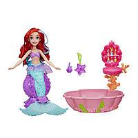 Игровой набор Изменение цвета Модная кукла Ариэль в Спа Салоне. Disney Princess