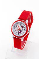 Детские наручные кварцевые часы «Kitti» 13158, красный