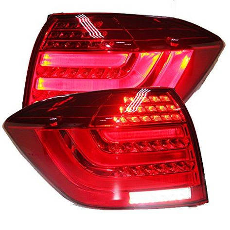 Штатная задняя оптика LED задняя оптика красный цвет 2012 по 2013 год для Toyota Highlander, фото 2