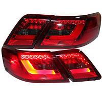 Штатная LED задняя оптика для Toyota Camry V40 красный черный цвет
