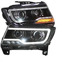 Штатная 2011 по 2014 год для Jeep Compass LED Front Light
