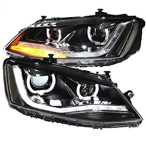 Штатная LED головная оптика 2011 по 2013 год TLZV2 для Volkswagen Jetta MK6 Sagitar