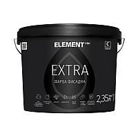 "Фасадная краска EXTRA (база С) ""ELEMENT PRO"" 2.35 л прозрачный"