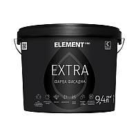 "Фасадная краска EXTRA (база С) ""ELEMENT PRO"" 9.4 л прозрачный"