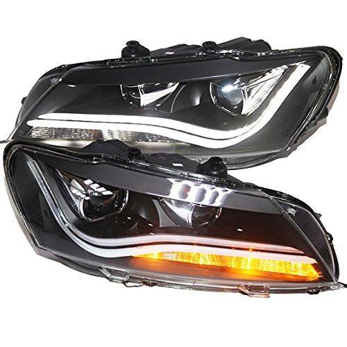 Штатная головная оптика с LED полосой 2011 по 2014 год LDV2 для Volkswagen North American Passat B7
