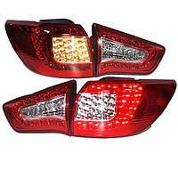 Штатная LED задняя оптика красный белый цвет 2009 по 2013 год для Sportage R