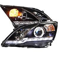 Штатная для Honda CRV головная оптика с LED ангельскими глазками 2007 по 2011 год