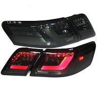 Штатна LED задняя оптик для Toyota Camry V40 дымчатый черный цвет