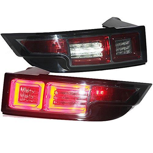Штатная для Land Rover Range Rover Evoque LED задняя оптика 2010 по 2012 год дымчатый черный
