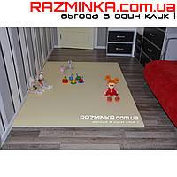 Детский коврик (мягкий пол) Kiddy 200х140х1,5см молочный цв.