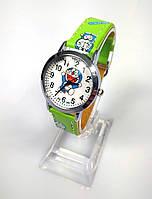 Детские наручные кварцевые часы «Мультяшки» 100-48, салатовый