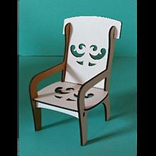 Іграшкова меблі Стілець з підлокітниками