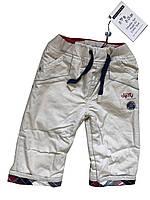 Утепленные штаны на флисе для мальчика 68см 6 мес Sergent Major Франция