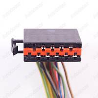Разъем электрический 10-и контактный (32-12) б/у 6 021 12 01