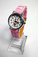 Детские наручные кварцевые часы «Мультяшки» 100-48, розовый