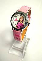 Детские наручные кварцевые часы «Барби» 100-48, розовый