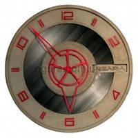 Часы круглые бетонные