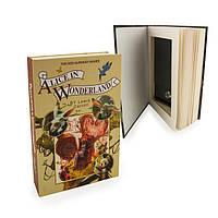 Книга-сейф со страницами Л.Кэрролл 22 см