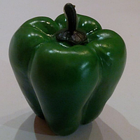 Искусственный овощ-перец болгарский,муляж перца