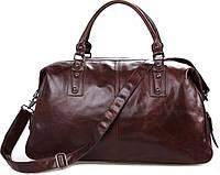 Дорожная кожаная сумка J&M 7071LC