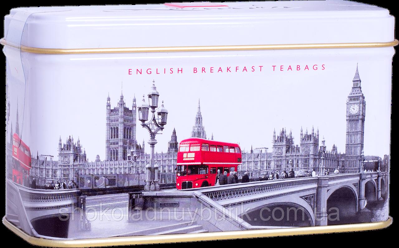 Чай Ahmad English breakfast, черный, 14 пакетиков, 28 г .