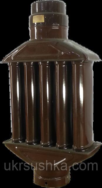 Дополнительный съем тепла от дымохода установить дымоход из нержавеющей стали
