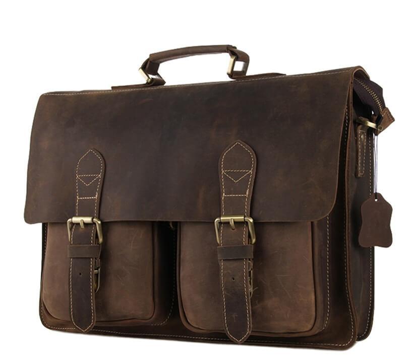 c7bfe058ca89 Мужской кожаный портфель TIDING BAG 7105B, цена 3 850 грн., купить в ...