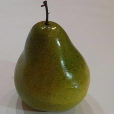 Искусственный фрукт муляж груша зеленая, фото 3