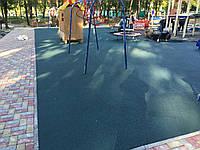 Резиновое покрытие Teking Kids 2S Color для детских площадок