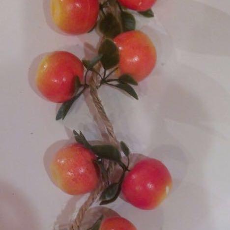 Искусственные яблоки. Муляж яблок на вязке., фото 2