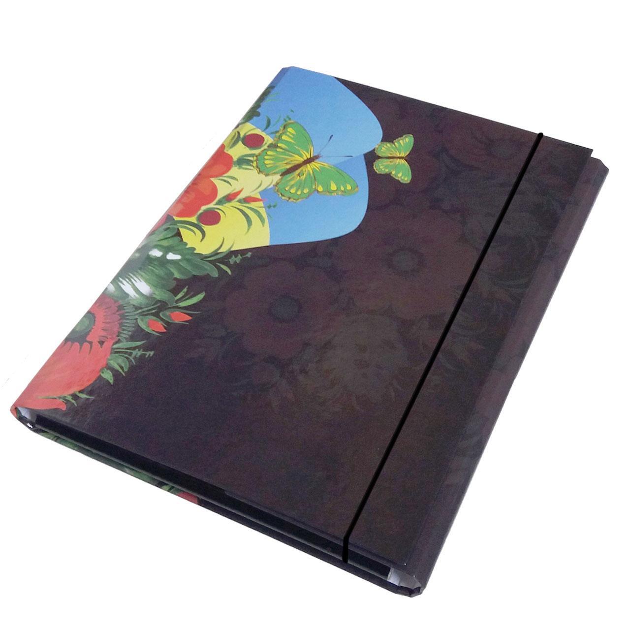 Папка-короб на резинке, А4, 25 мм, полноцветная, PP-покрытие