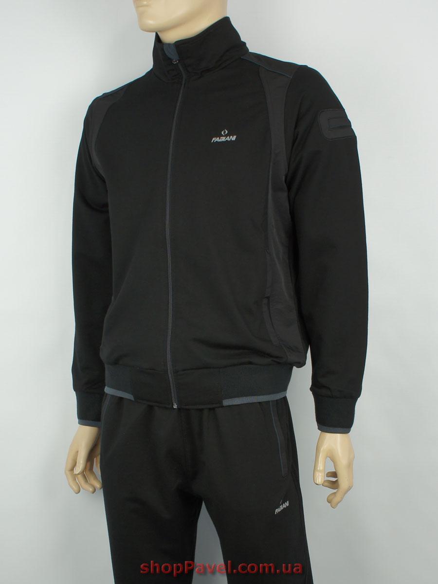 Чоловічий стильний спортивний костюм Fabiani 13YЕ8Е59056 Н чорного кольору