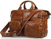 Сумка-рюкзак из натуральной кожы Jasper&Maine 7026B