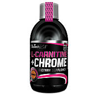 Biotech L carnitine+chrome(яблоко) 500 ml