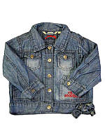 Детская Куртка джинсовая для девочки от 6 мес. до 2 лет